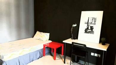 Subang Sunway Fully Furnished Designer Air Cond Room