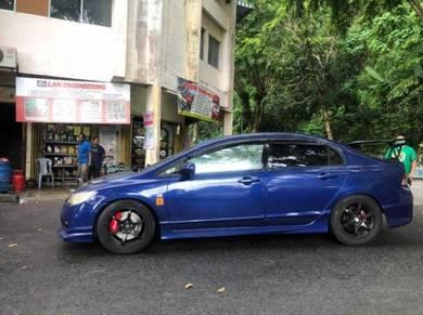 Upgrade Honda brake disc 4pot sumitomo