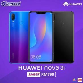 HUAWEI nova 3i (4GB RAM)MYset + 2 TAHUN JAMINAN