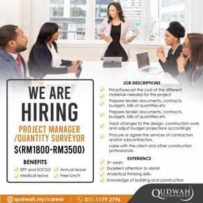 Quantity Surveyor/ Project Manager (Civil)