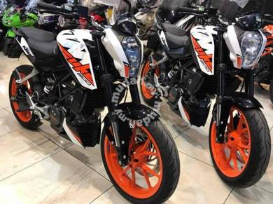 KTM Duke 200 New Facelift Offer ~ KHM Kian Huat