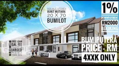 Taman Mutiara Indah Johor Bahru New Unit Limited Bumi Lot