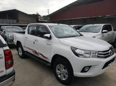 2019 Toyota HILUX 2.4 G (MANUAL)