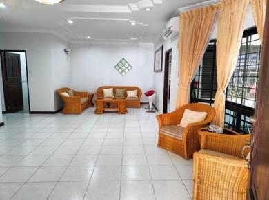 Tabuan jaya semi detached for rent