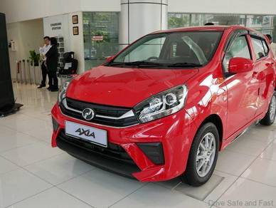2019 Perodua AXIA 1.0 GXTRA (A) BEST IN TOWN