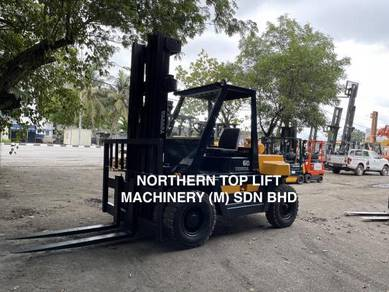 JAPAN DIRECT Imported TOYOTA 6 ton DIESEL FORKLIFT