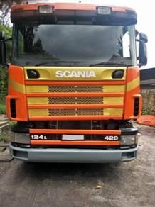 Scania 124L trailer