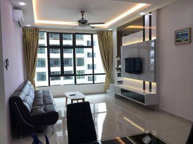 D Summit, 3BILIK, SEWA, PARTLY FURNISHED, SETIA TROPIKA, LOW DEPO