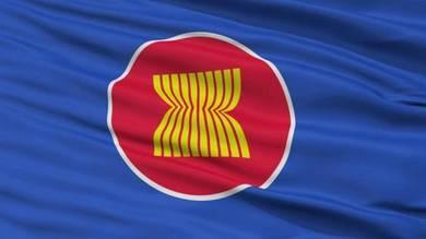 Bendera ASEAN logo .printing