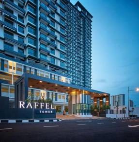 Cheapest Raffel Tower 1,600 Sqft, Middle Floor, Sea-View Unit