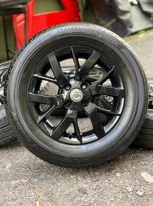 ORIGINAL 15 inch sports rim ALMERA tyre 80%
