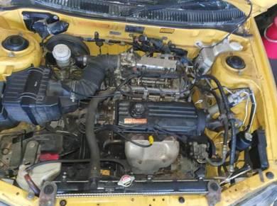 Enjin 0 wira 1.5 injection halfcut condition