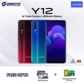 VIVO Y12 (3GB/64GB | 5000mAh) + 2 Free Gift