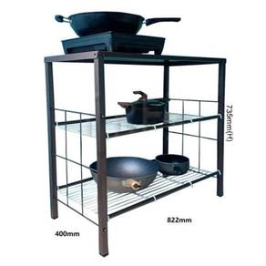 Kitchen Gas Stove Rack Rak Dapur Besi