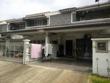2 storey, Setia Alam, Shah Alam, Extended Kitchen