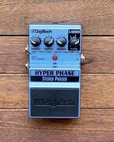 DigiTech Hyper Phase Stereo Phaser Pedal c/w box