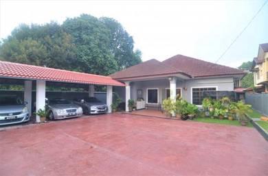 EXTENDED   1 Storey Bungalow Kampung Kubu Gajah Sungai Buloh