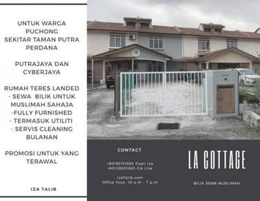 La Cottage - Bilik Sewa Muslimah