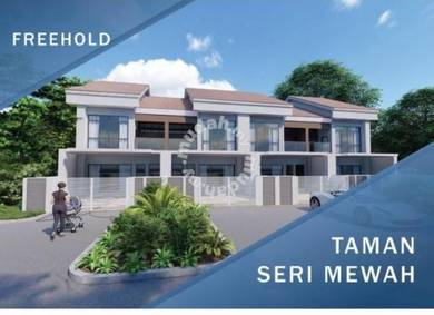 New project. double storey terrace in meru, klang
