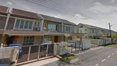 Tabuan Tranquility double storey for rent