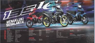 Yamaha LC 135 100% L/kedai black list boleh IC shj