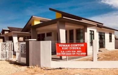 Semi-D Bukit Marak (Orang Melayu bukan anak Kelantan boleh beli)