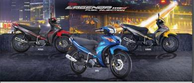 Yamaha Lagenda 115 Zi L/kedai b/list muka rendah