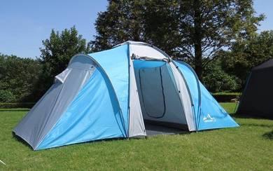 Laputa 4 Person Camping Tent (Blue)