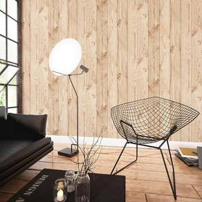 Korea wood design wallpaper 2017
