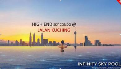 [KEPONG] 99 High End Residence New Condo, [MRT], KTM, Jalan Kuching