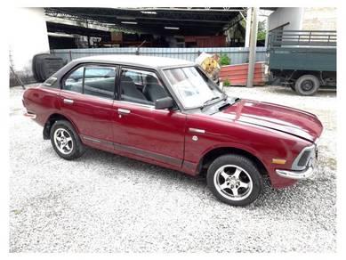 Toyota corolla ke20 1973 1.2cc (m) petrol (red)