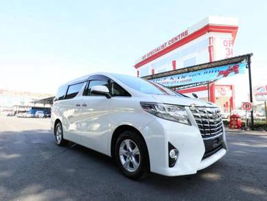 2015 Toyota ALPHARD 2.5 - NEW MODEL PROMO HEBAT