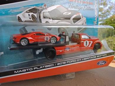 Maisto Flatbed & 2018 Ford GT