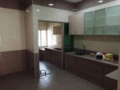 Taman Kepong baru freehold single storey Renovated Guarded segambut