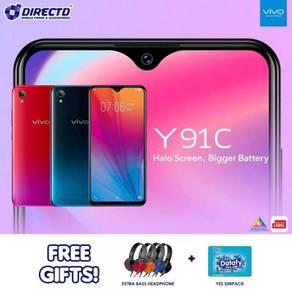 HARGA BARU - VIVO Y91C (2GB/32GB) Percuma 2 HADIOH