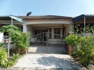 Kangkar pulai rumah satu tingkat untuk dijual siap ubahsuai