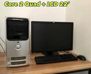 Set Komputer Original Refurbished (COD Selangor)