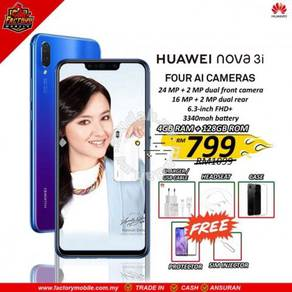 Huawei Nova 3i + new 3 Gift rm1000