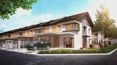 Cybersouth Landed Townhouse, Malay Reserved Land, Zero downpayment