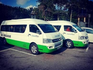 Tour Airport KLIA KLIA2 Van Bas Persiaran