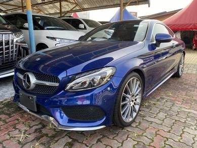 Mercedes Benz C180 1.6 COUPE AMG SPORTS (A)