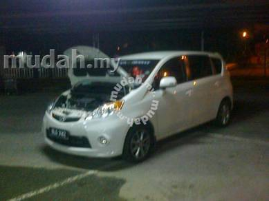TWIN SURBO power upgrade Axia Myvi Alza Bezza