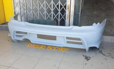 Rear Bumper Varis For Subaru Ver7 Ver8 Ver9