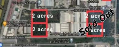 2 acres Industrial Land at Batu Gajah Perdana, Perak