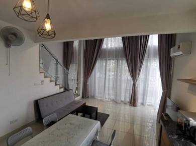 Duplex unit for rent next to MRT station