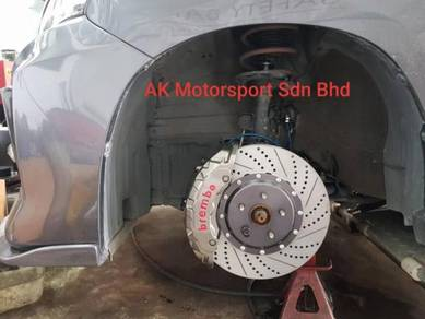 Brembo 20z 380mm 6pot toyota alphard 2012