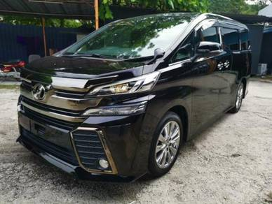LELONG EMCO 2017 Toyota VELLFIRE 2.5 Golden Eye