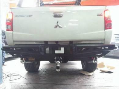JUNGLE Rear Bumper Bull Bar Mitsubishi Triton New