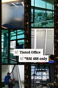 Tinted films for building house office factory