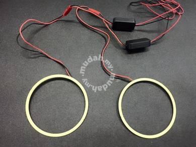 Led cob ccfl ring with inverter